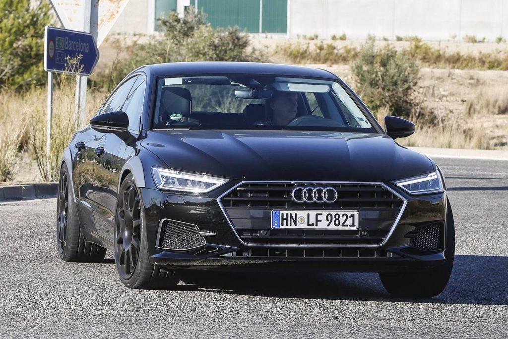La prochaine Audi RS7 2019 espionnée lors d'essais en Espagne