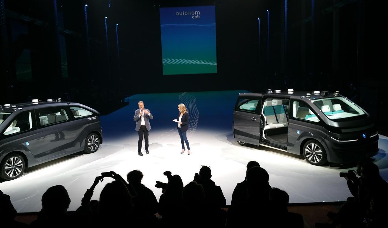 Autonom Cab une technologie performante et intelligente