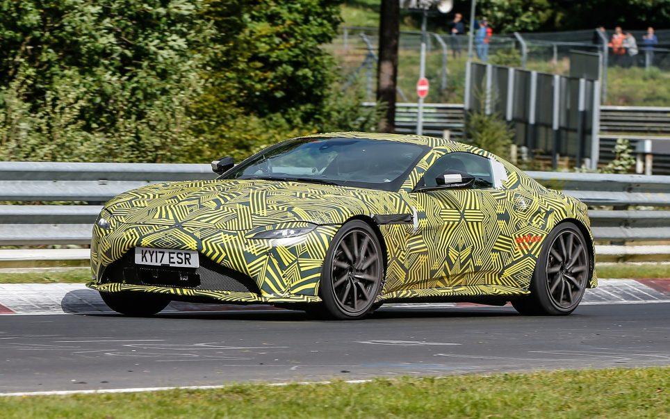 Vantage, le dernier modele d'Aston Martin-2