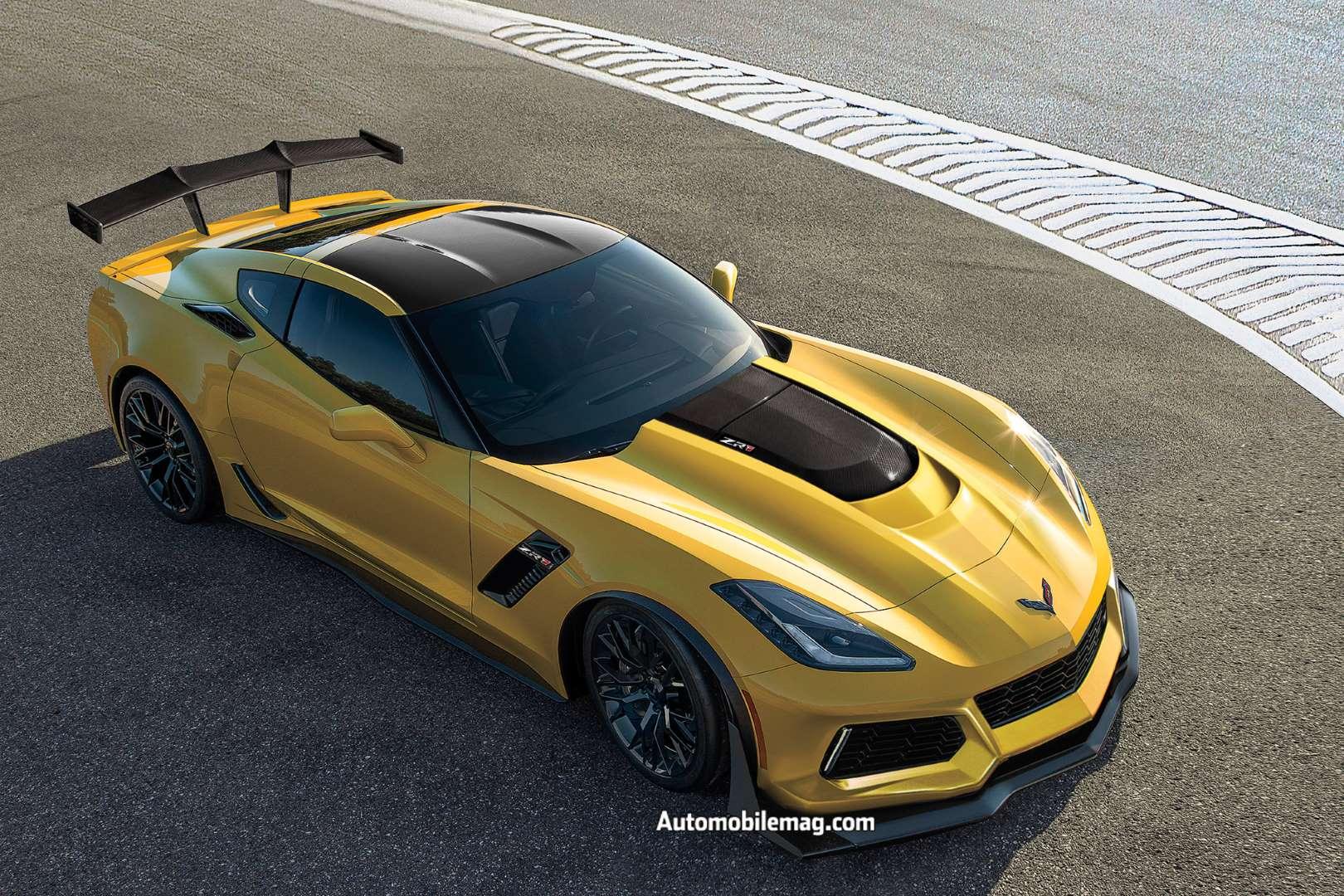 La Chevrolet Corvette ZR1 2019 sera présentée au Salon de ...