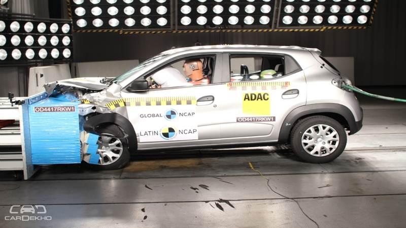 La Renault Kwid obtient 3 étoiles lors de crash tests du Latin NCAP