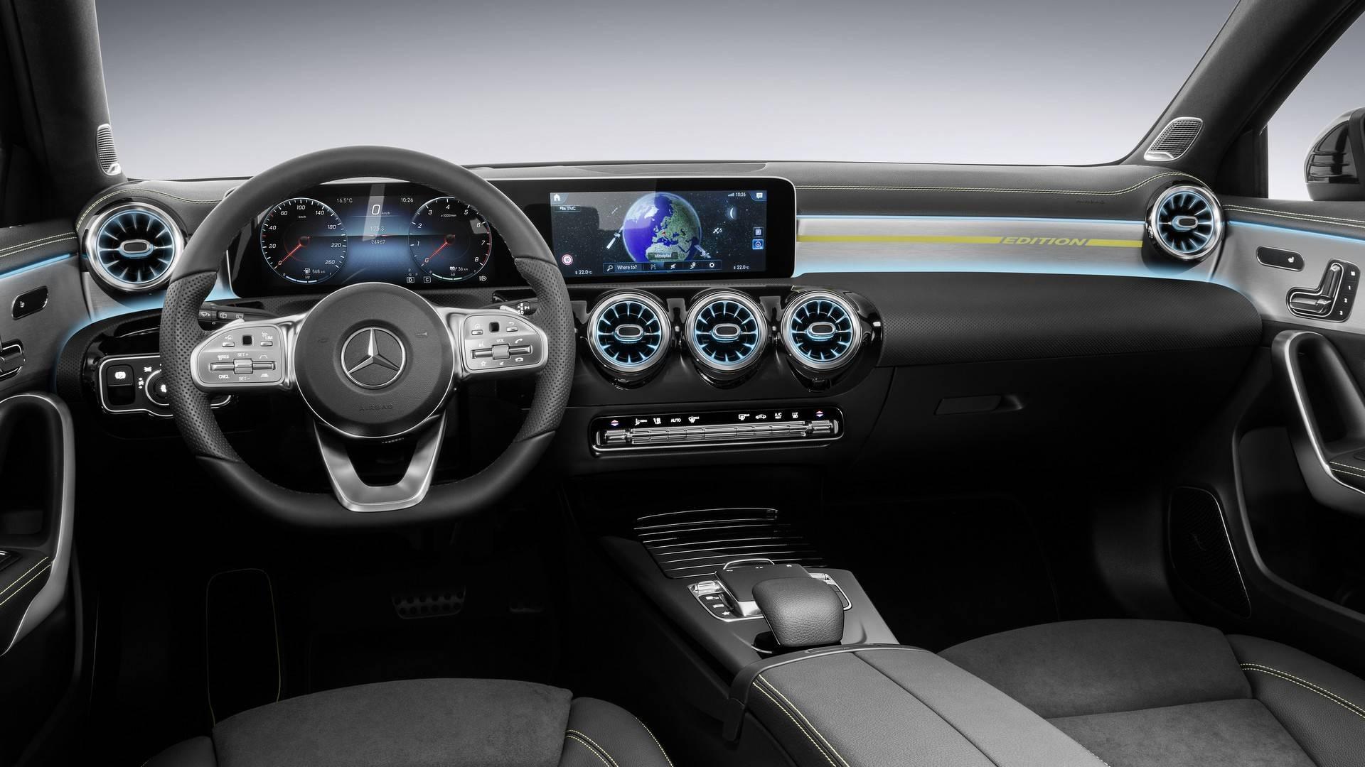 Mercedes-Bens Classe A intérieur