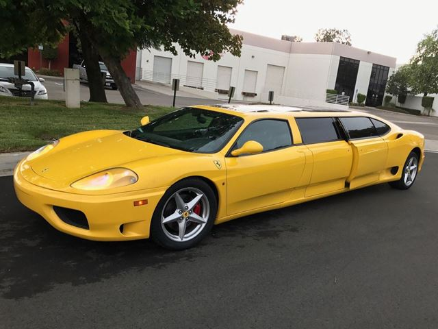 Ferrari 360 Modena Limousine