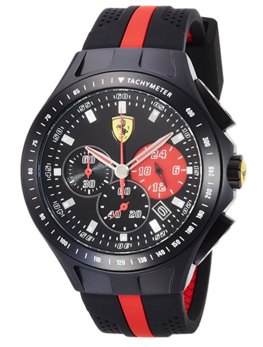 Montre Scuderia Ferrari Men's SF103 Textures of Racing