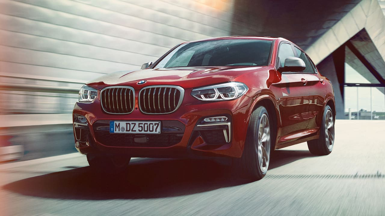 la nouvelle bmw x4 2018 s 39 affirme avec son design coup. Black Bedroom Furniture Sets. Home Design Ideas